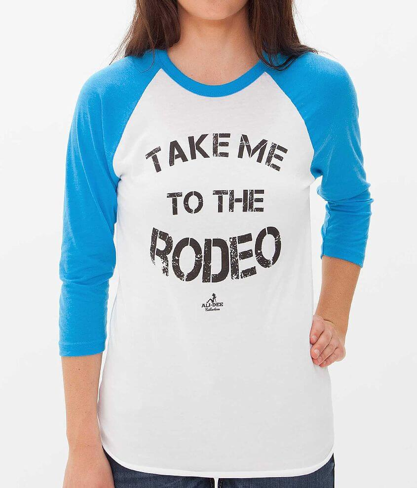 Ali Dee Collection Rodeo T-Shirt front view