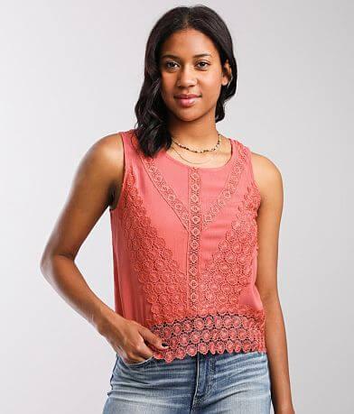 Daytrip Crochet Tank Top
