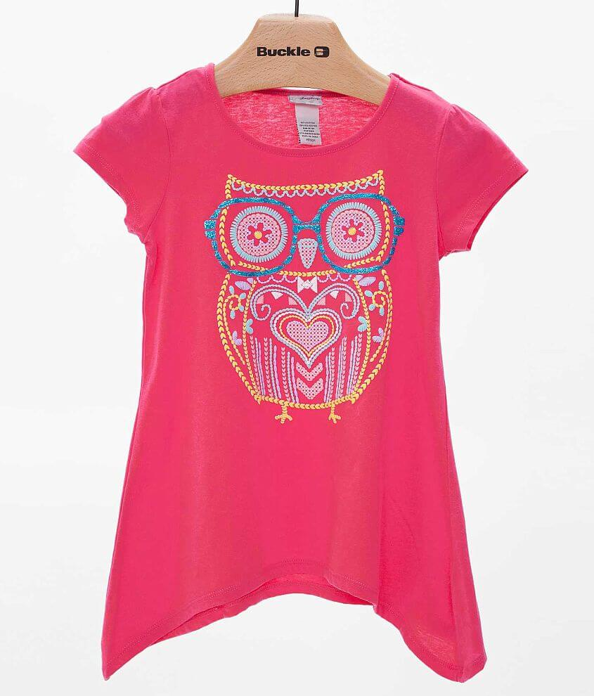 Girls - Daytrip Owl Top front view