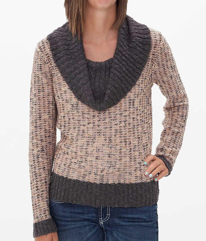 BKE Marled Sweater front view