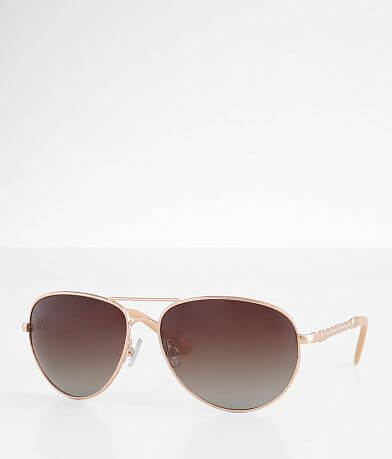 BKE Polarized Aviator Sunglasses