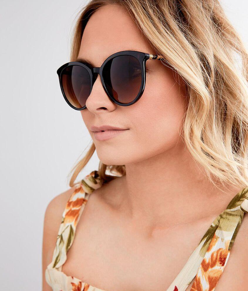 Plastic frame sunglasses Gradient lenses 100% UV protection See more 2 for $20 styles!