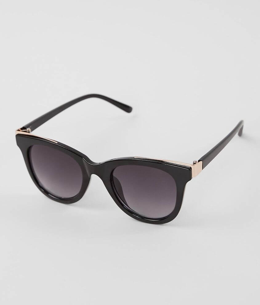 BKE Pieced Metal Sunglasses front view