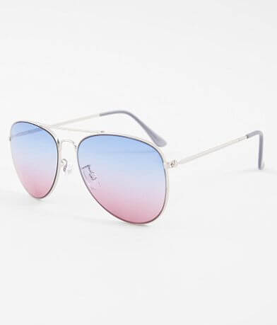 BKE Gradient Aviator Sunglasses