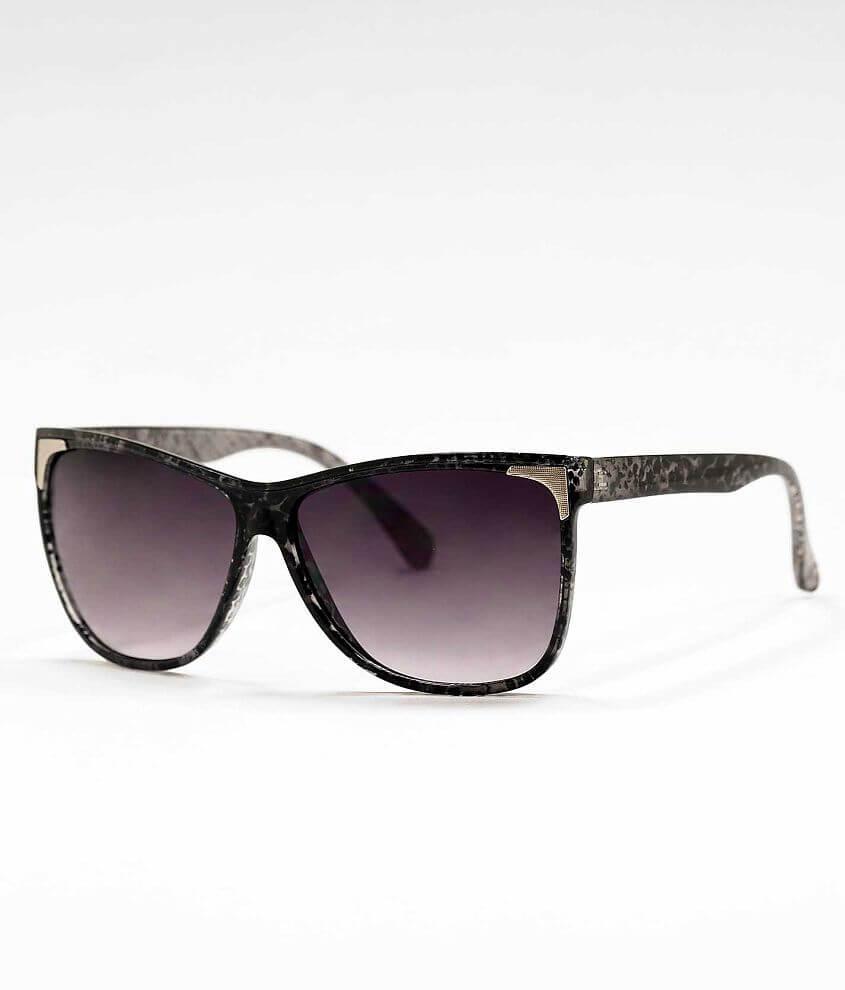 BKE Snakeskin Print Sunglasses front view