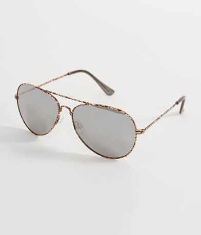 BKE Browbar Aviator Sunglasses