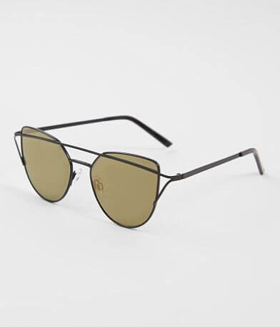 BKE Cat Eye Browbar Sunglasses