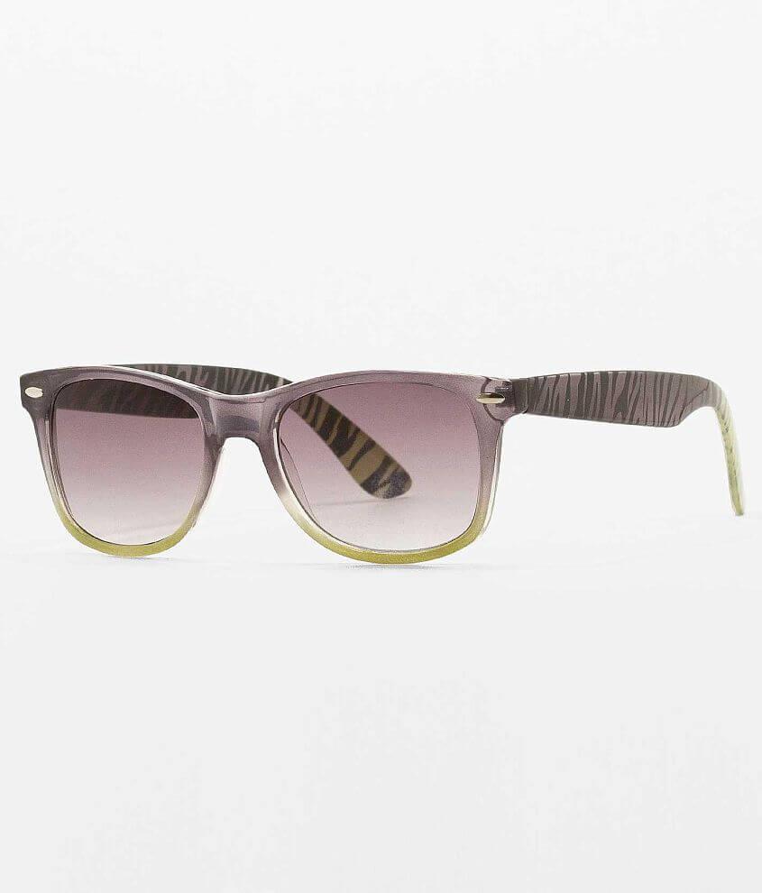 Daytrip Zebra Temple Sunglasses front view