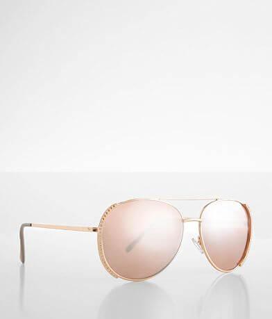 BKE Rhinestone Aviator Sunglasses