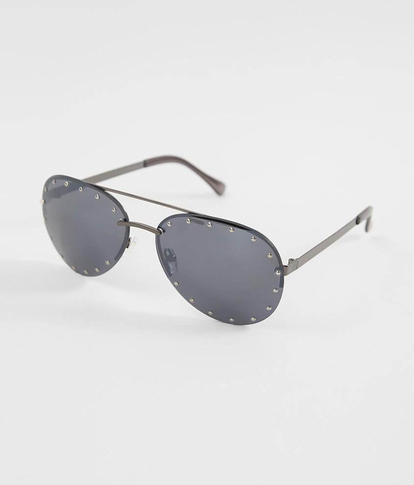 3eb8ee94e64 BKE Studded Aviator Sunglasses - Women s Accessories in Antique ...