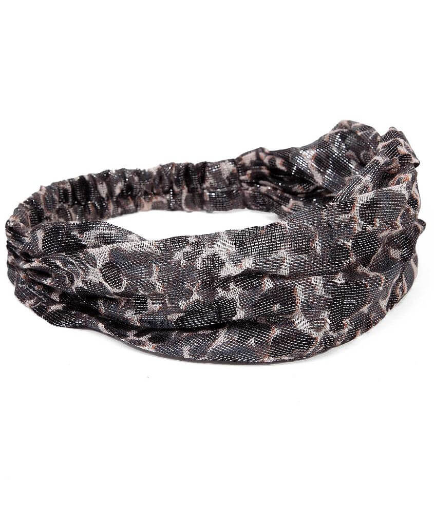 Daytrip Animal Print Headband front view