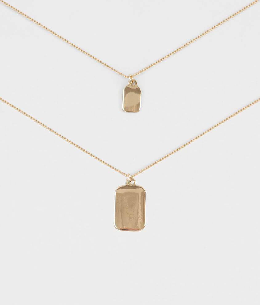 BKE Tag Pendant Necklace Set
