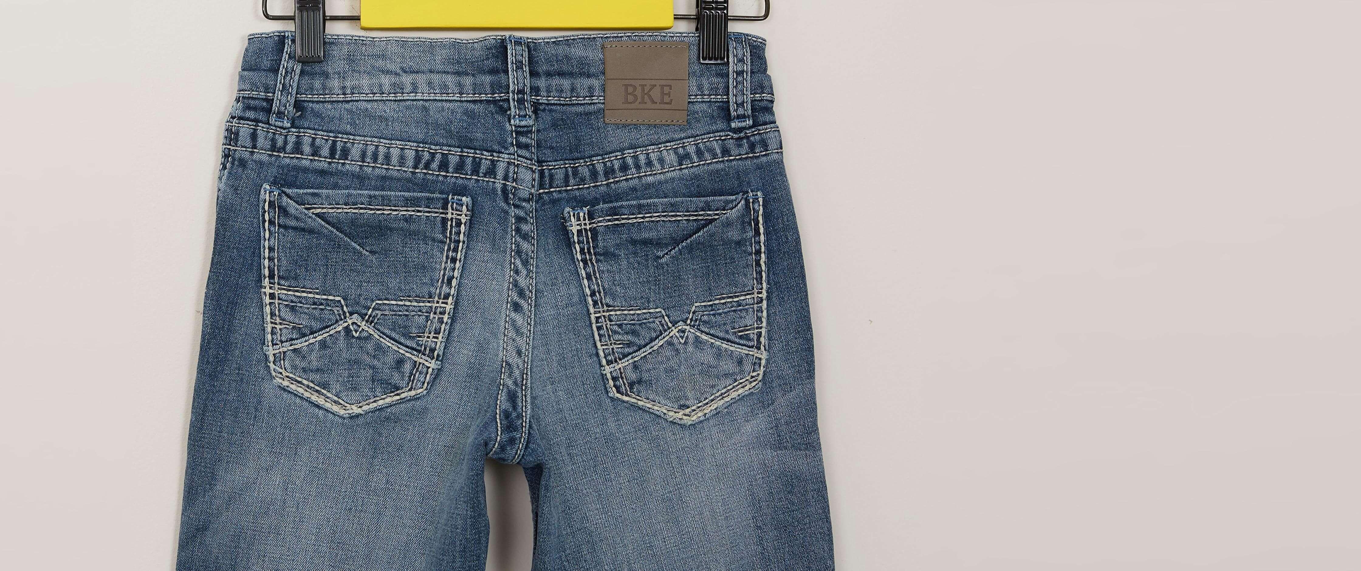 85ec71e1 Boys - BKE Conner Straight Stretch Jean [6XuXh1811518] - $31.99
