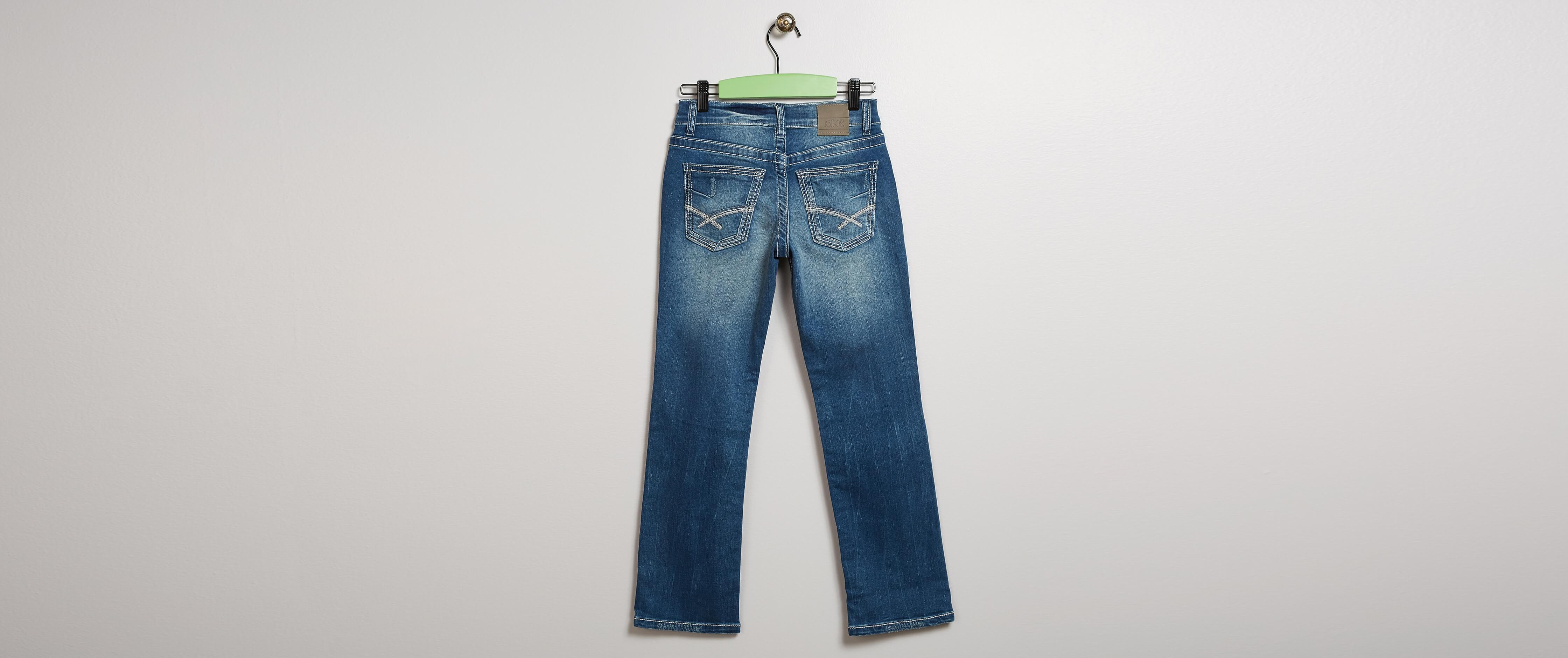 bb120518 Boys - BKE Conner Straight Stretch Jean [6XuXh0106763] - $25.99
