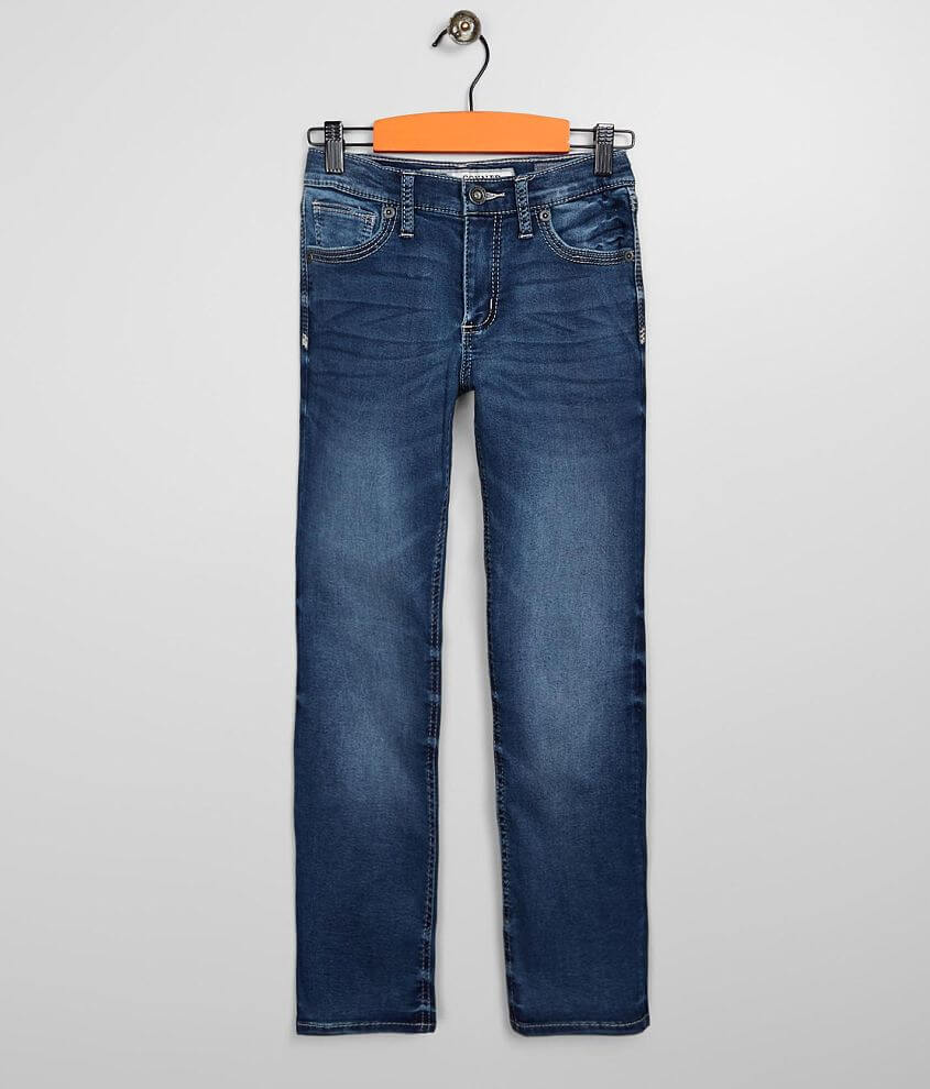 Boys - BKE Conner Straight Stretch Knit Jean front view