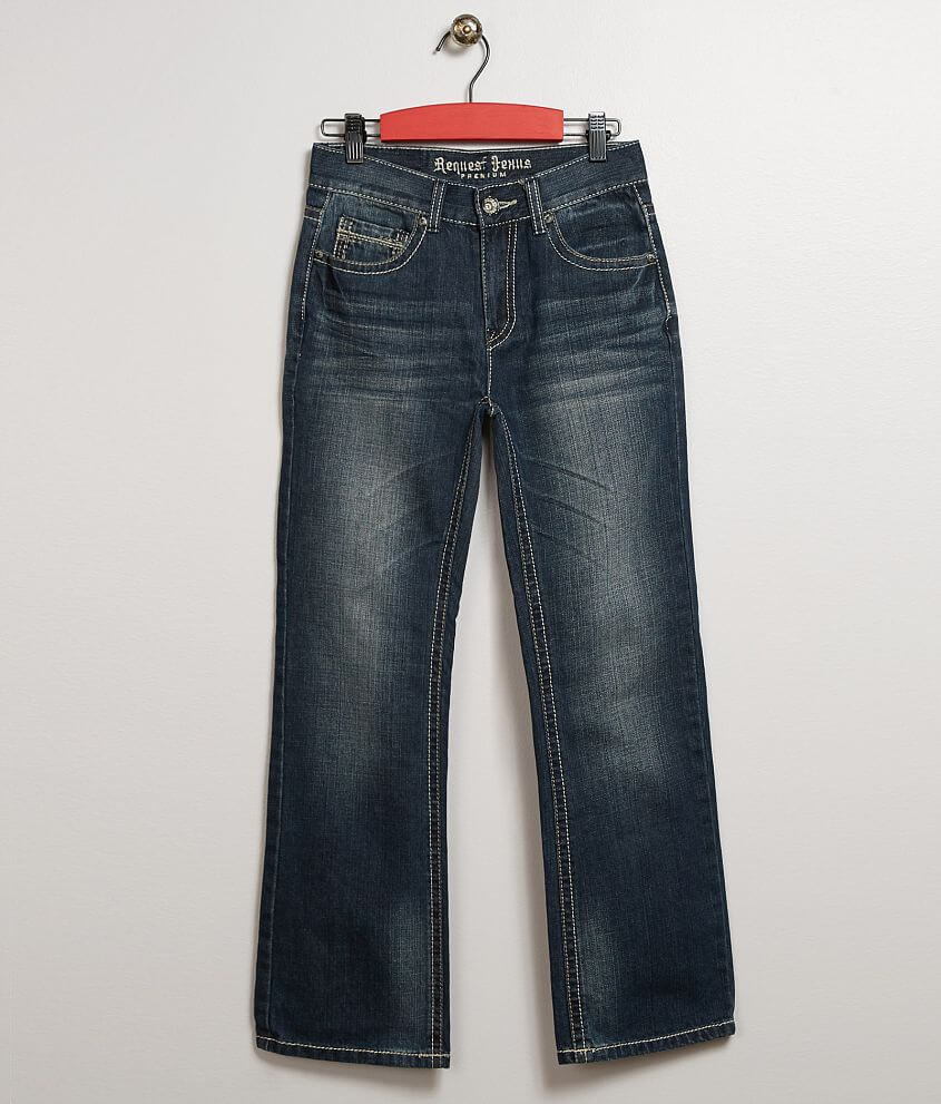 Boys - Request Jeans Ethan Straight Stretch Jean front view