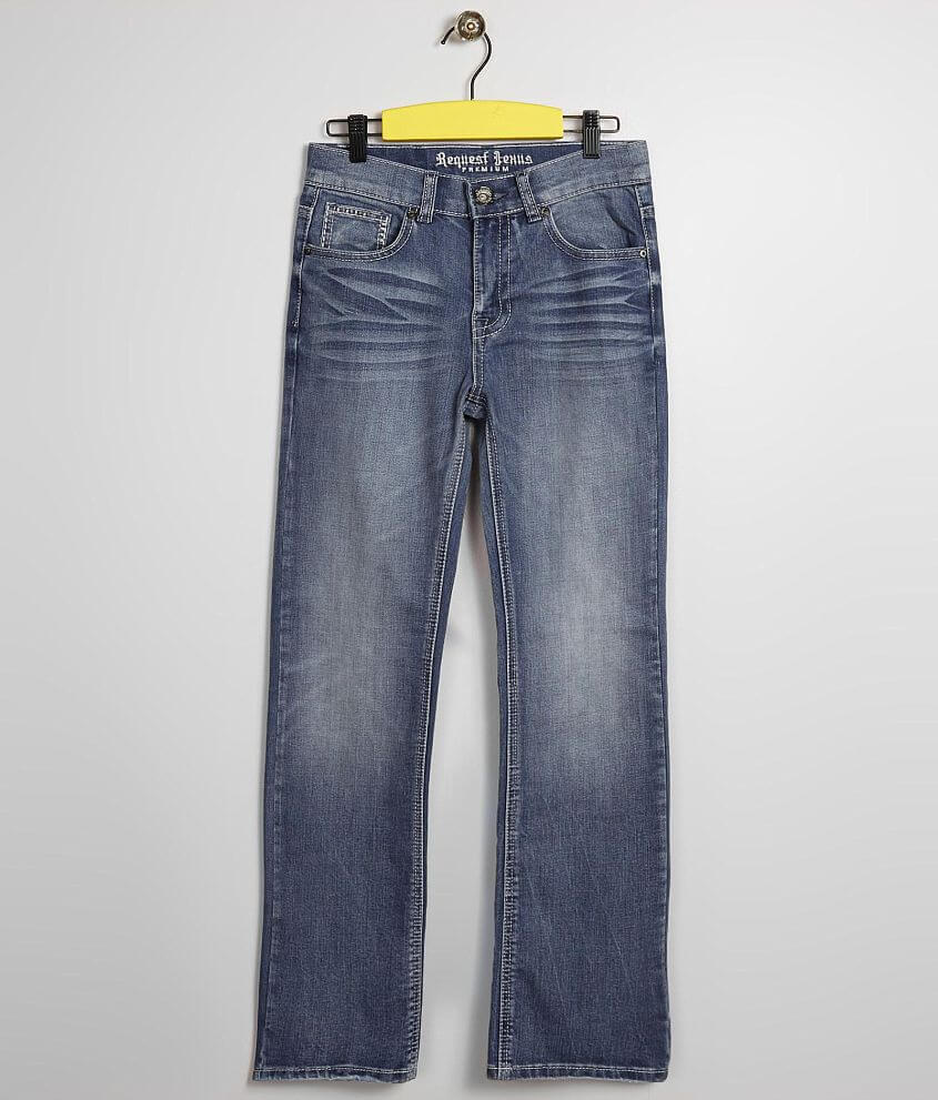 Boys - Request Jeans Durango Boot Stretch Jean front view