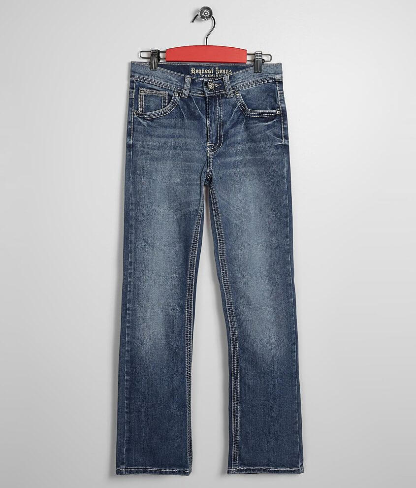Boys - Request Jeans Oberhavson Boot Stretch Jean front view