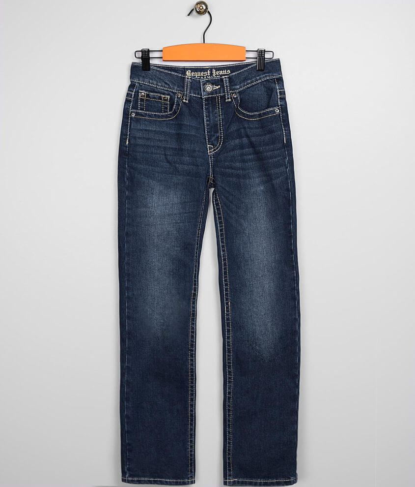 Boys - Request Jeans Straight Stretch Jean front view