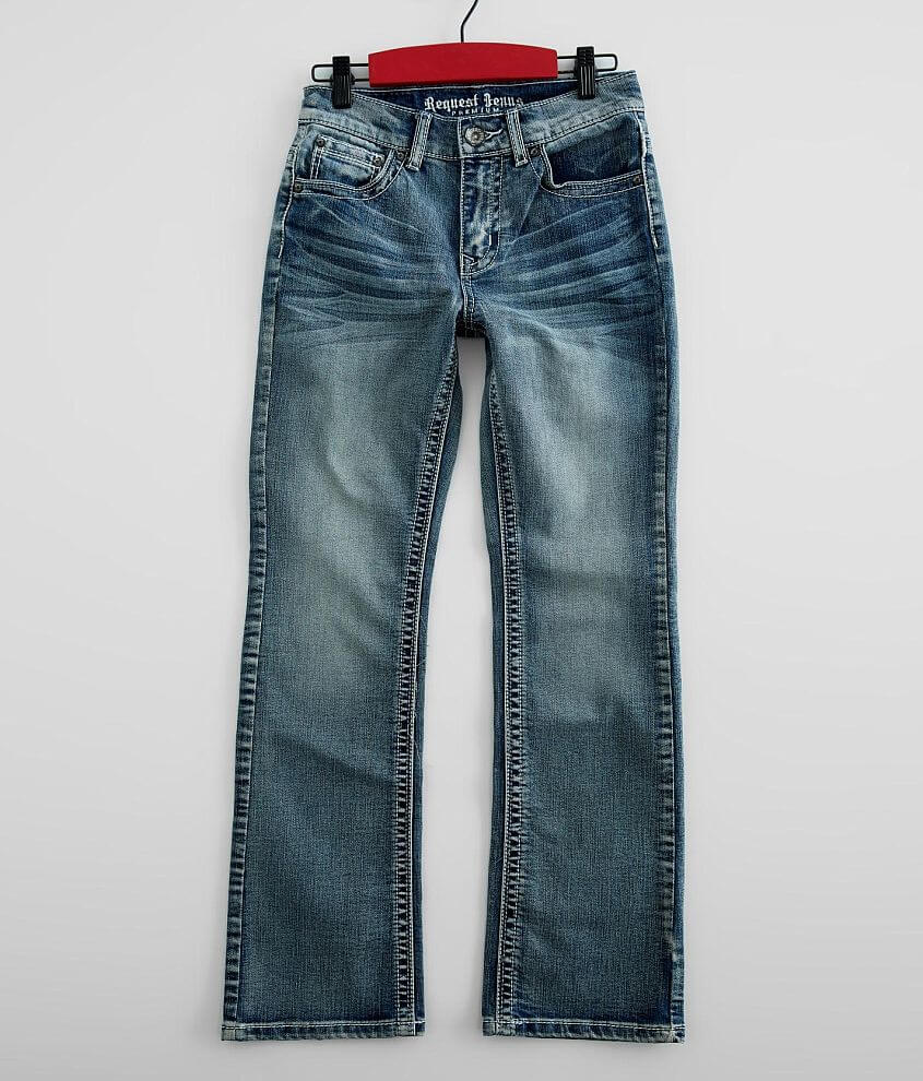 Boys - Request Jeans Boot Stretch Jean front view