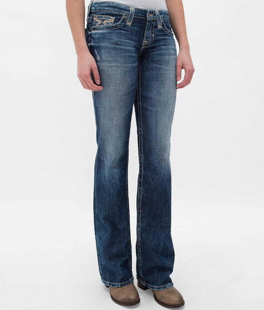 Big Star Vintage Liv Boot Stretch Jean front view