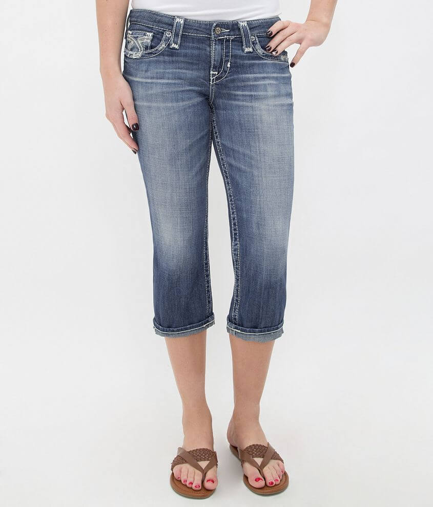 Big Star Vintage Maddie Stretch Cropped Jean front view