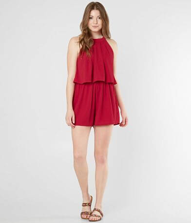 Daytrip High Neck Romper