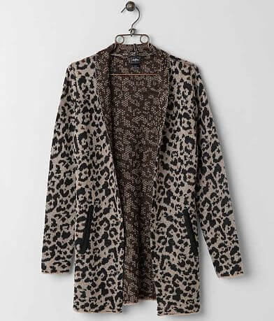 Daytrip Leopard Cardigan Sweater