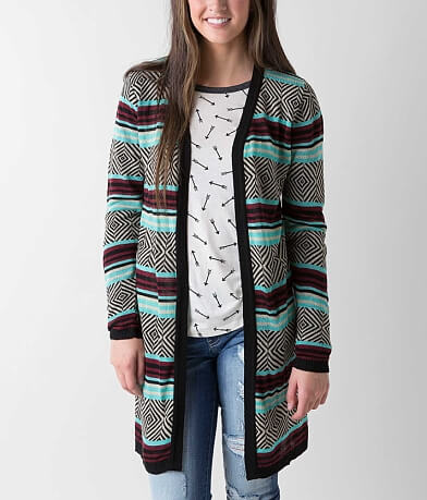Daytrip Geo Cardigan Sweater