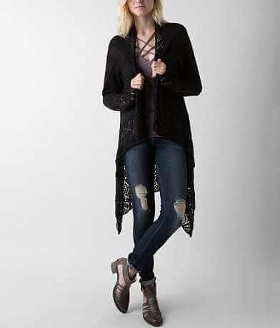 Daytrip Open Weave Cardigan Sweater