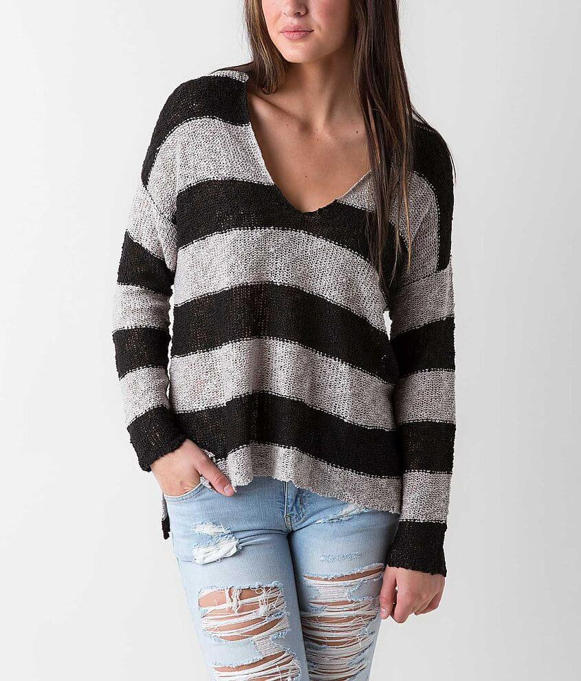 Daytrip Striped Sweater front view