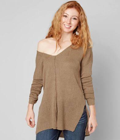 Daytrip Pieced Sweater