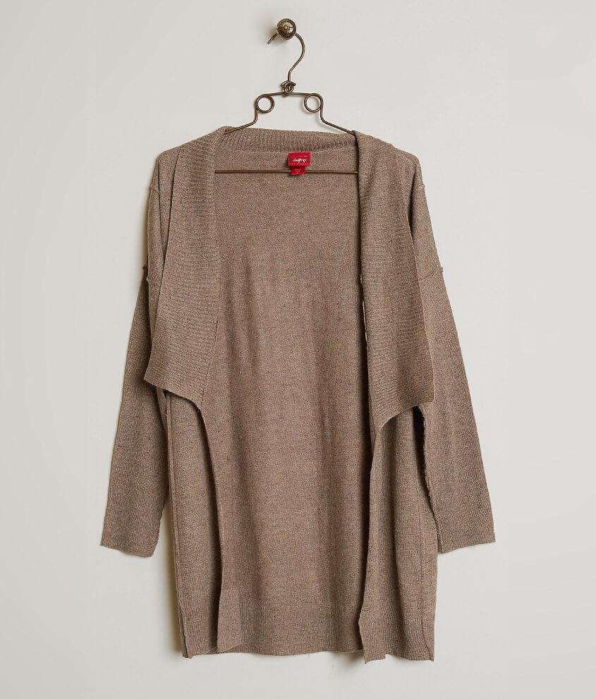 Daytrip Flyaway Cardigan Sweater - Women's Sweaters in Taupe | Buckle