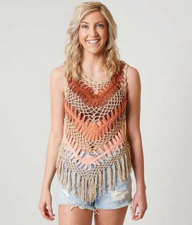 Daytrip Macrame Tank Top