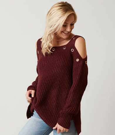 Daytrip Cold Shoulder Sweater