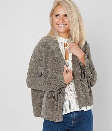 Daytrip Chenille Skimmer Cardigan Sweater
