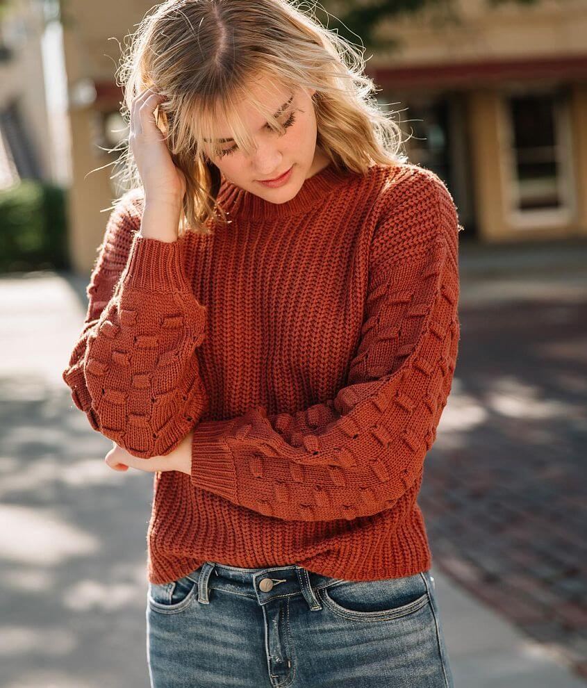 Willow & Root Pullover Sweater front view