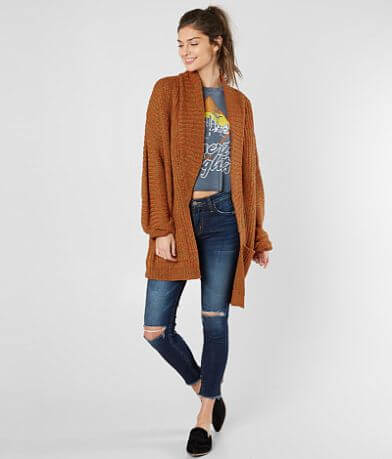 Daytrip Chunky Ribbed Cardigan Sweater