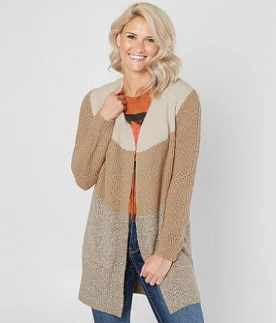 Daytrip Pieced Cardigan Sweater