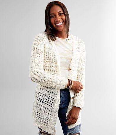 Daytrip Chenille Cardigan Sweater
