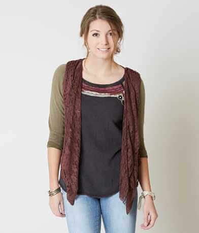Daytrip Fringe Sweater Vest
