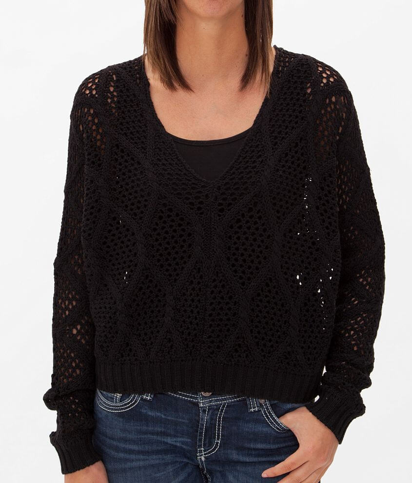 Daytrip Cropped Sweater front view