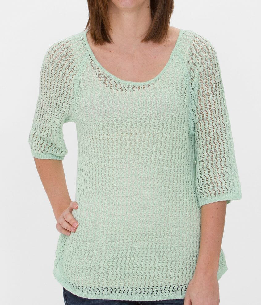 Daytrip Open Weave Sweater front view