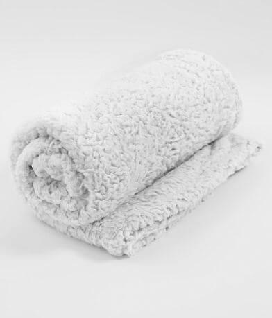 BKE Fuzzy Holiday Blanket