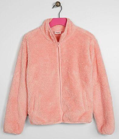 Girls - Daytrip Fuzzy Faux Fur Jacket