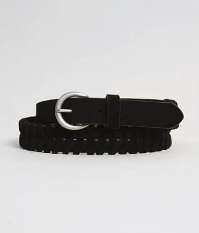 BKE Woven Leather Belt