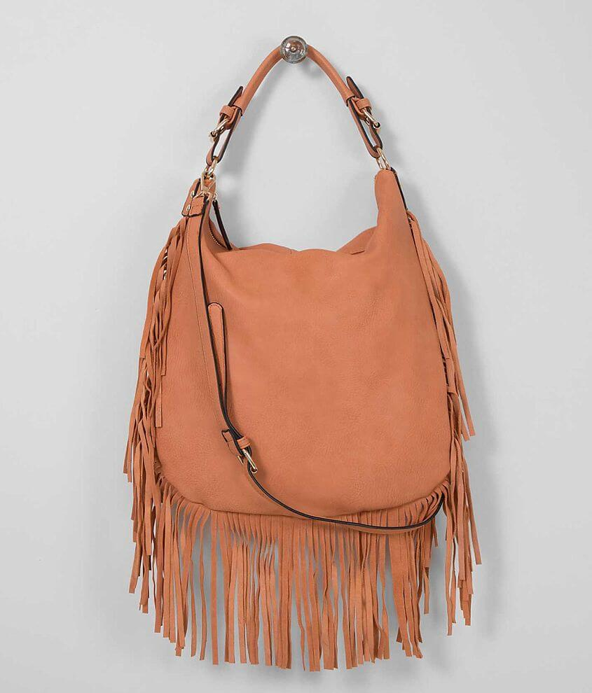 Moda Luxe Fringe Purse front view