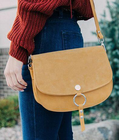 Moda Luxe Pieced Suede Purse