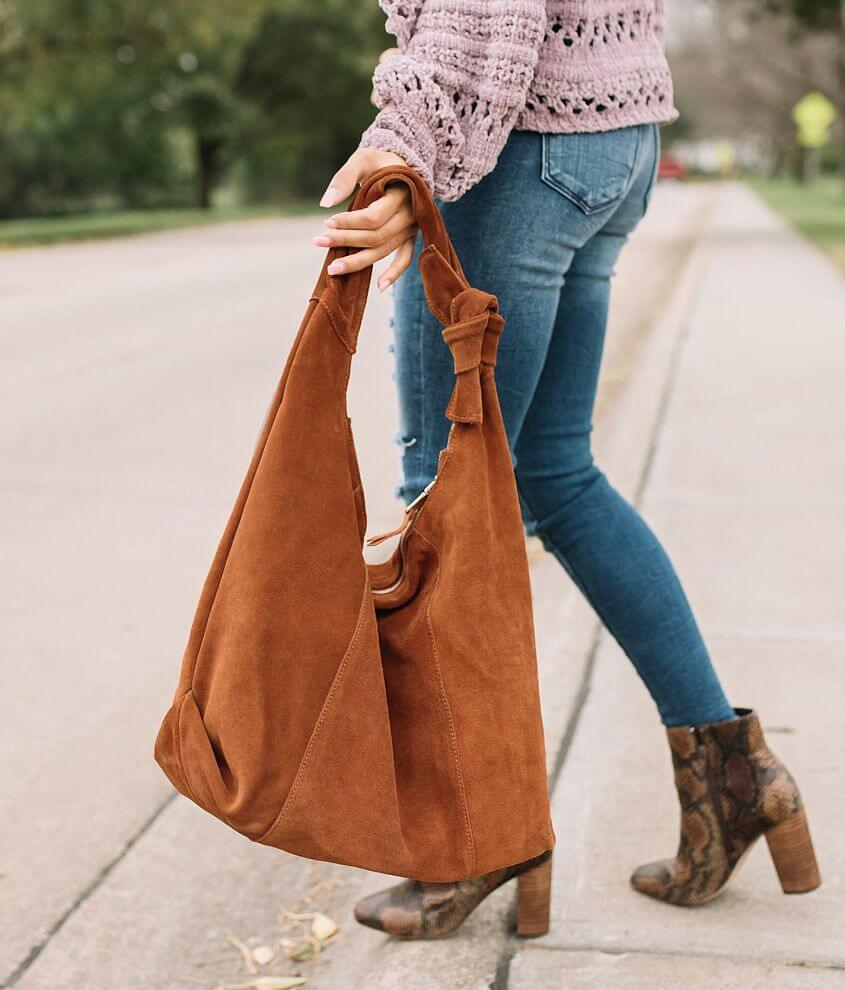 Moda Luxe Emma Suede Hobo Purse