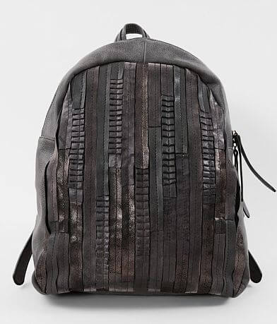 Moda Luxe Fiona Pleated Metallic Backpack